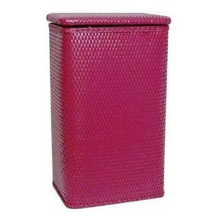 Chelsea Collection Apartment Hamper Raspberry 14.25L x 10.25W x 24H