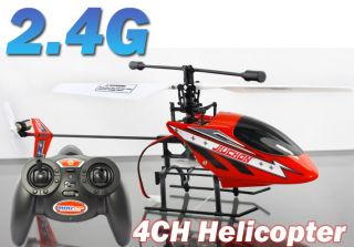 Indoor 2 4Ghz 2 4G 4CH Gyro RC Radio Remote Control USB Helicopter Fly