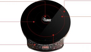 Programmable Induction Cooktop. NuWave Single Burner Portable