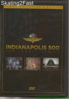 Indianapolis 500 The Legacy Series DVD 4 Discs Collectors Edition Indy