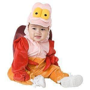 Sebastian Little Mermaid Crab Halloween Costume 6 12 Months