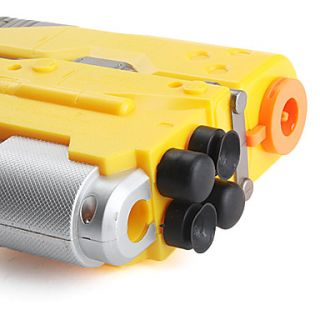 USD $ 14.49   Electric Toy Gun with Bullets (Yellow),