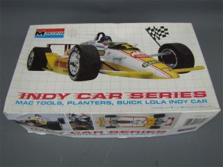 Monogram Indy Race Car Buick Lola Indy Car Model Kit