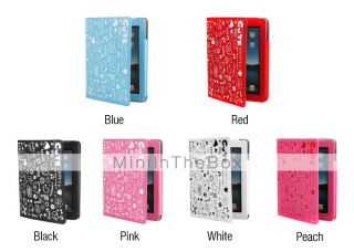 USD $ 15.49   Lovely Cute Girl Protective PU Leather Case Stand for