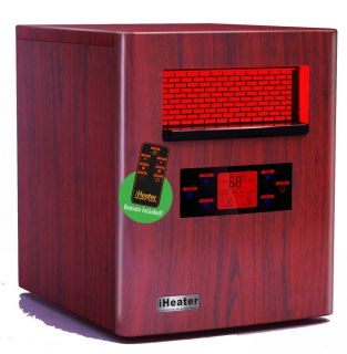 Iheater 1500 Watt Quartz Infrared Portable Heater