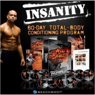 Brand New Insanity Workout 13 DVDs 60 Day Workout Program