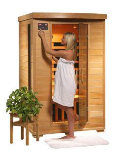 New Infrared Sauna 2 Person Carbon Heater Sauna Coronado Suana