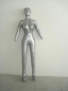 Body Hat Dress Pants Inflatable Mannequin Dummy Torso Model