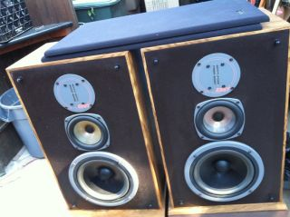 Infinity RS7 Bookshelf Speakers Brown