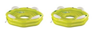 NEW (2) SEVYLOR 3347 Party Island Inflatable Lake Pool Tubes   96