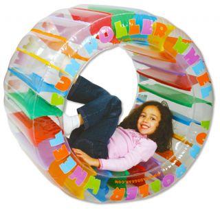 Inflatable Roller Wheel Childrens Kids Indoor Outdoor Toy Human