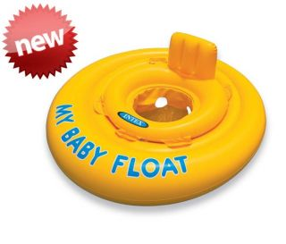 NEW Inflatable INTEX My Baby Float Pool Ring For 6   12 Months Infant