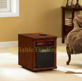 New 5200 Btus Infrared Portable Power Heat Space Electric Heater in