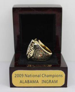 2009 ALABAMA INGRAM College National Championship ring, cutomize ring