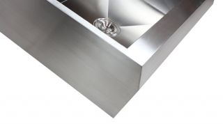 33 Stainless Steel Arrow Front Style Farm House Apron Kitchen Sink