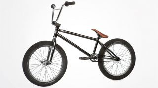 2013 Fit Justin Inman 2 Gloss Black Chrome Complete Bike BMX s M