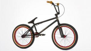 2013 Fit Justin Inman 1 Black Red Complete Bike Signature s M Cult 20
