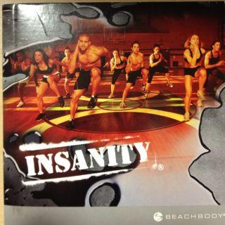 Insanity Workout 10 DVD Set Beachbody