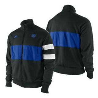 Nike Inter Milan 2009 Lu Soccer Jacket Royal Black