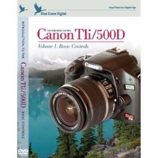 Blue Crane Canon T1i 500D Training Instructional DVD