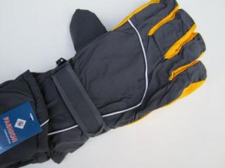 Men Ski Snowboard Glove Winter Insulated Waterproof One Sz M L XL x