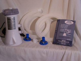 Intex 637R Pool Pump Skimmer Vacuum Kit and Head Plus Filters