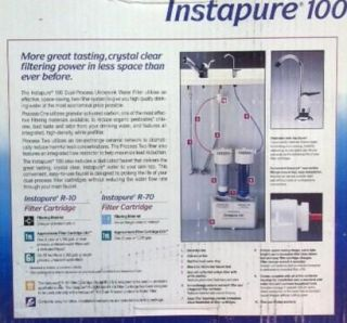 Water PIK Instapure 100 Dual Process Undersink Water Filter