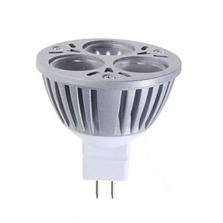 EUR € 18.57   mr16 3w 180lm bianco naturale punto lampadina led (12v
