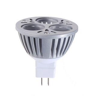 EUR € 18.57   mr16 3w 180lm bianco naturale punto lampadina led (12v