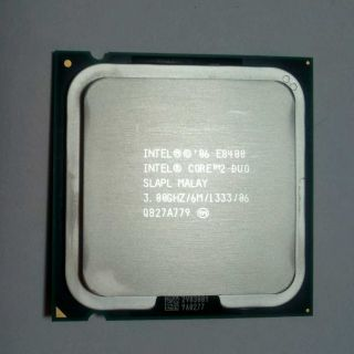 Dell Intel Core 2 Duo E8400 3 GHz Dual Core Processor Slapl