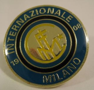 Inter Milan FC Internazionale Milano Soccer Football Pin Button Badge