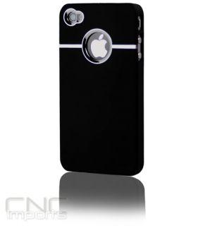 Trim Slim Logo Hard Case Cover for Apple iPhone 4 4G ATT GSM