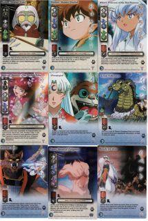 InuYasha TCG Kassen Full 119 Trading Card Game Set RARE
