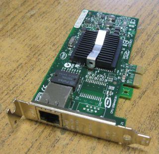 Intel Pro 1000 VT quad port Gigabit Ethernet NIC Dell H092P PCI