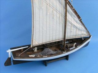 Sailing Away 28 Fishing Boat Model Sailing SHIP Wood