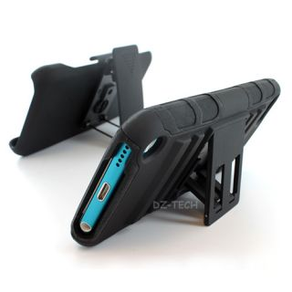 Hybrid Hard Case Cover Holster Kickstand For Apple iPod Touch 5 5G
