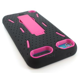 Impact Hard Case Cover Kickstand For Apple iPod Touch 5 5G Accessory