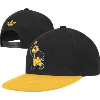 Iowa Hawkeyes Adidas NE95Z Vintage Vault Snapback Wool Hat Cap