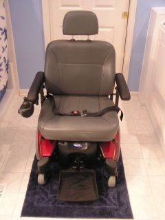 Invacare Pronto Sure Step Model M91 Power Wheelchair 400 lb Capacity