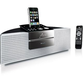DCM250 iPhone and iPod Dock Docking Station Radio CD Player Aux