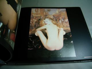 Irina Ionesco Art Photo Book The Eros of Baroque