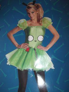 Invader Zim Gir Womens Junior Halloween Party Dress Costume M XS