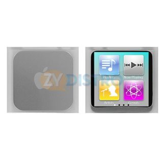 Colorful Silicone Rubber Skin Case Cover for iPod Nano 6th Gen 6G 6