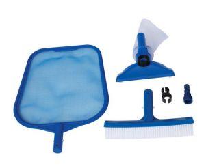 INTEX Standard Cleaning Maintenance Swimming Pool Kit w/ Vacuum Head