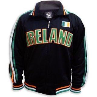 Ireland Soccer Track Jacket World Cup Irish Eire Mens