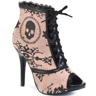 Iron Fist Lacey Days Bootie Boots Heel Womens Shoes