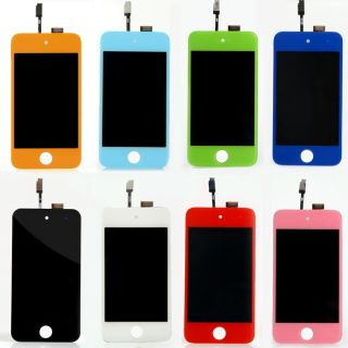 Colors LCD Screen Display Touch Glass Digitizer Assembly for iPod