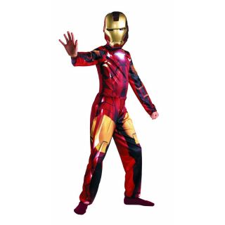 Marvel Ironman 2 Dress Up Child Costume Gift Window Box New 4 6X
