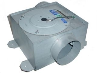 REVERSOMATIC 110V 1AMP IN LINE BLOWER FAN W/ CLEANOUT DOOR 5 DUCT OUT
