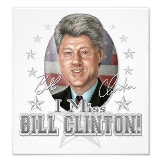 Miss President Bill Clinton Print